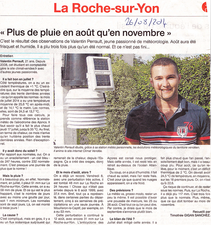 Article OuestFrance Aot2014