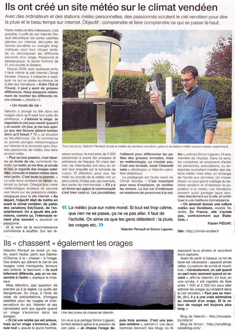 Article OuestFrance Mai2014