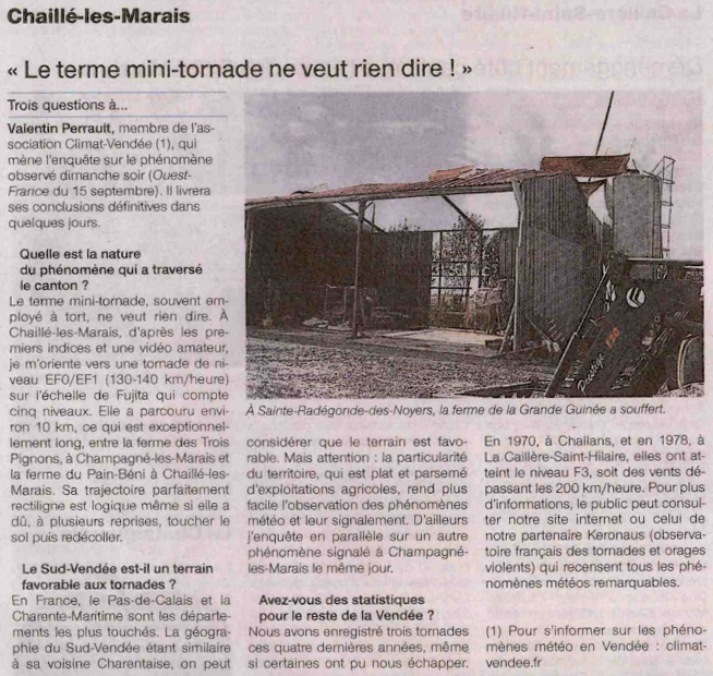 Coupure du journal Ouest-France
